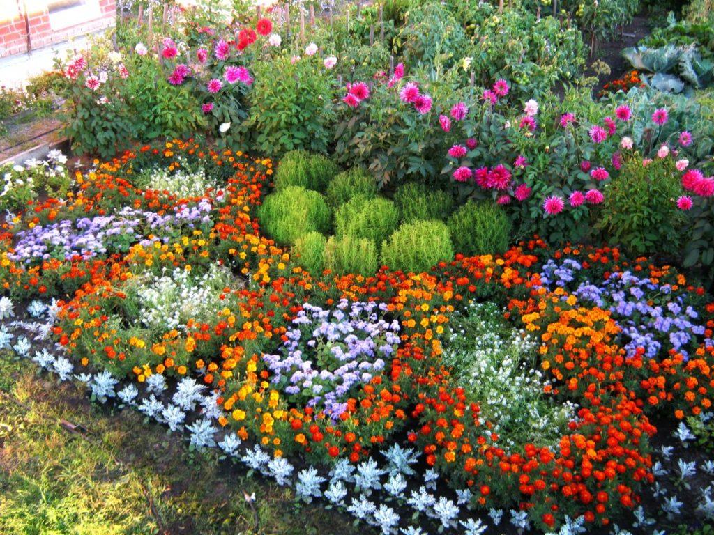 Композиции цветов из бисера схема фото