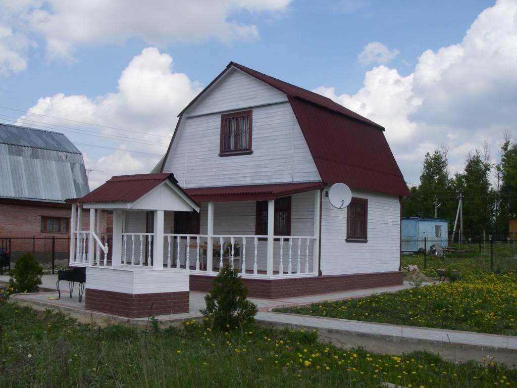 Дома на дачных участках фото