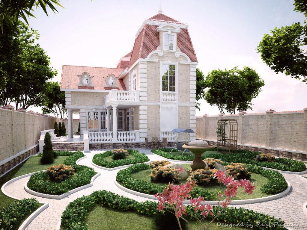 Как своими руками сделать красивый фасад дома фото 740