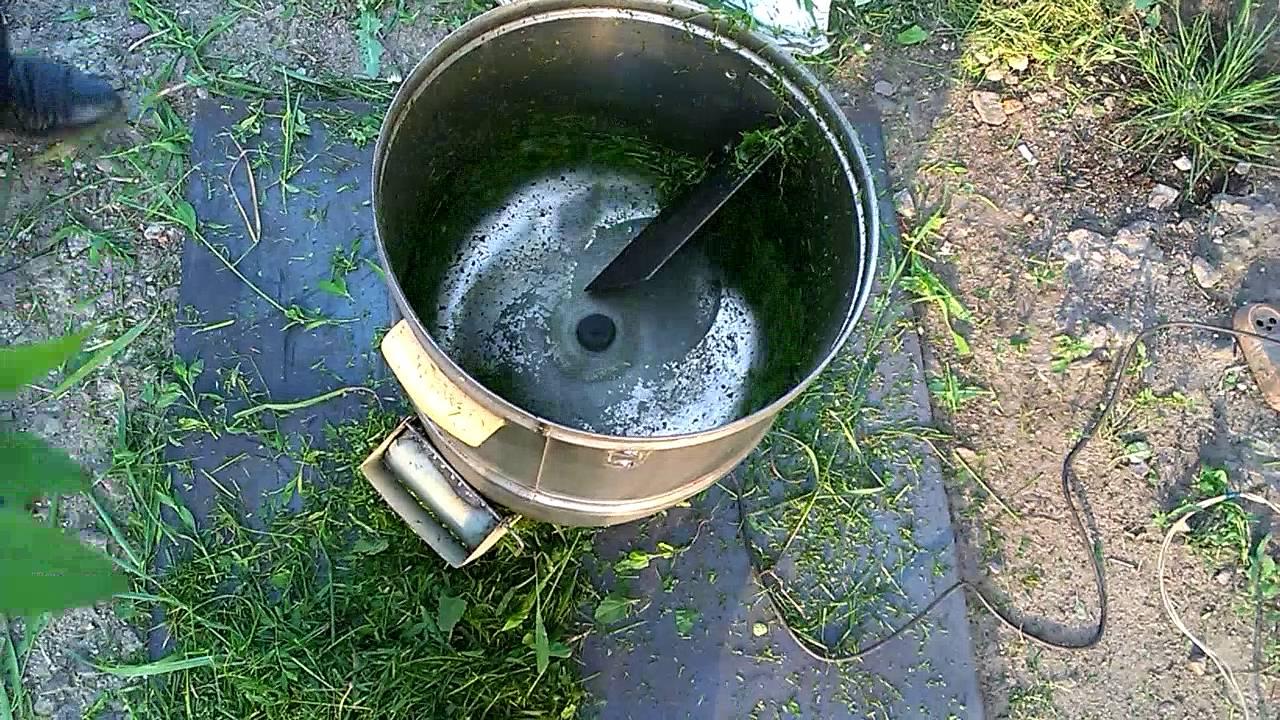 Измельчитель травы 4