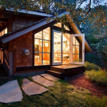 Красивые дачные домики — современные фото идеи