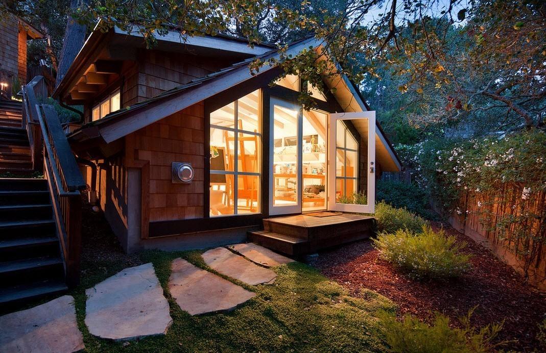 Красивые дачные домики
