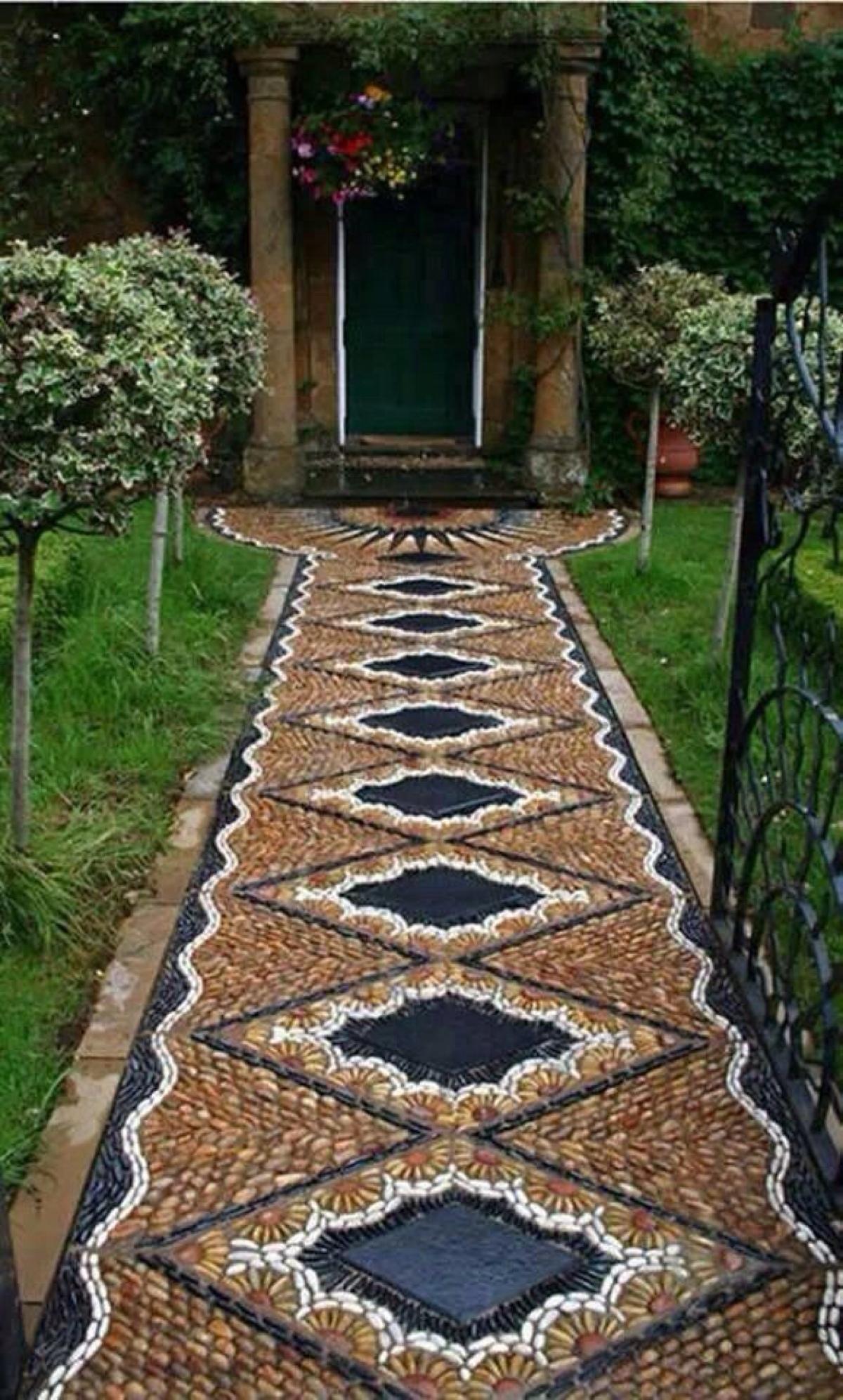 Красивые и практичные садовые дорожки 2