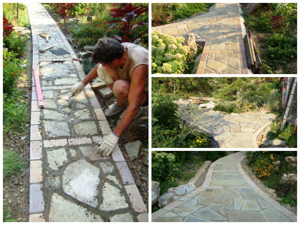 Красивые и практичные садовые дорожки
