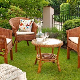 Садовая мебель — функциональность и красота: 100 фото идей