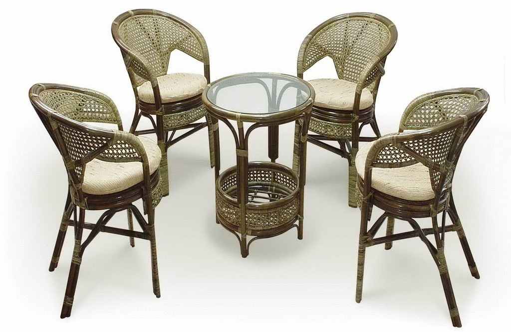 Варианты плетеной мебели (ротанг)