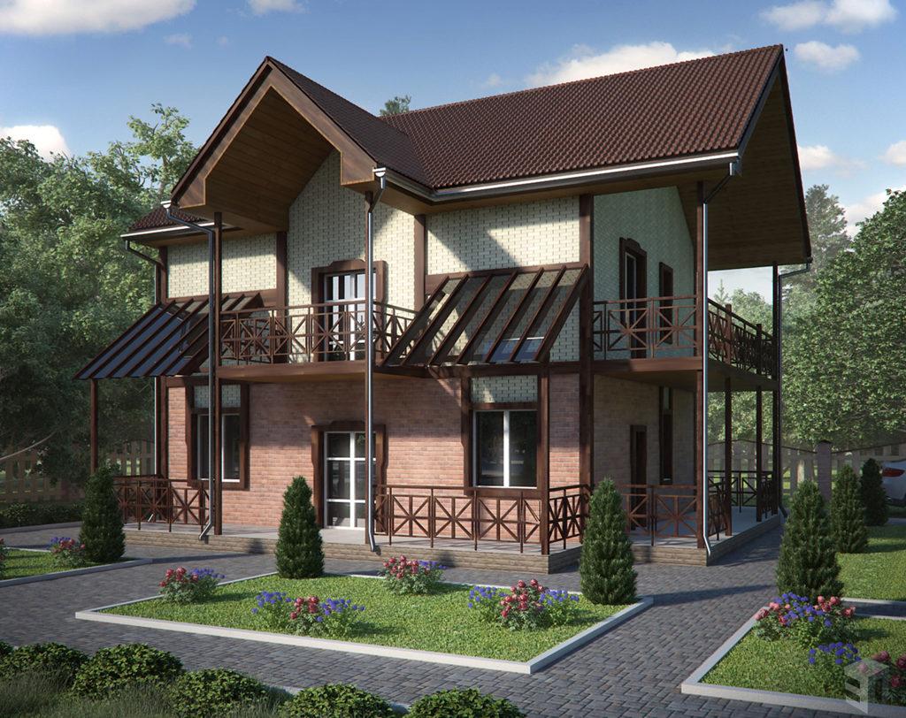 Сделать дом загородный