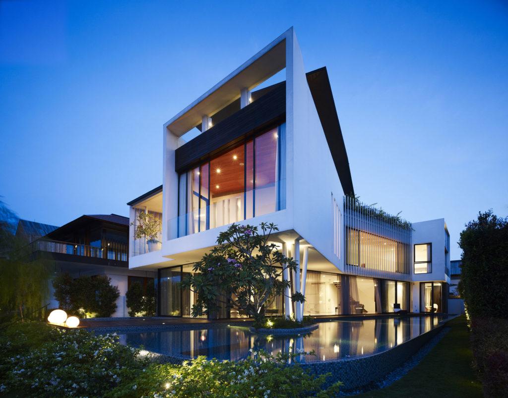Оформление фасада частного дома своими руками