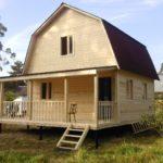 Дачный домик фото
