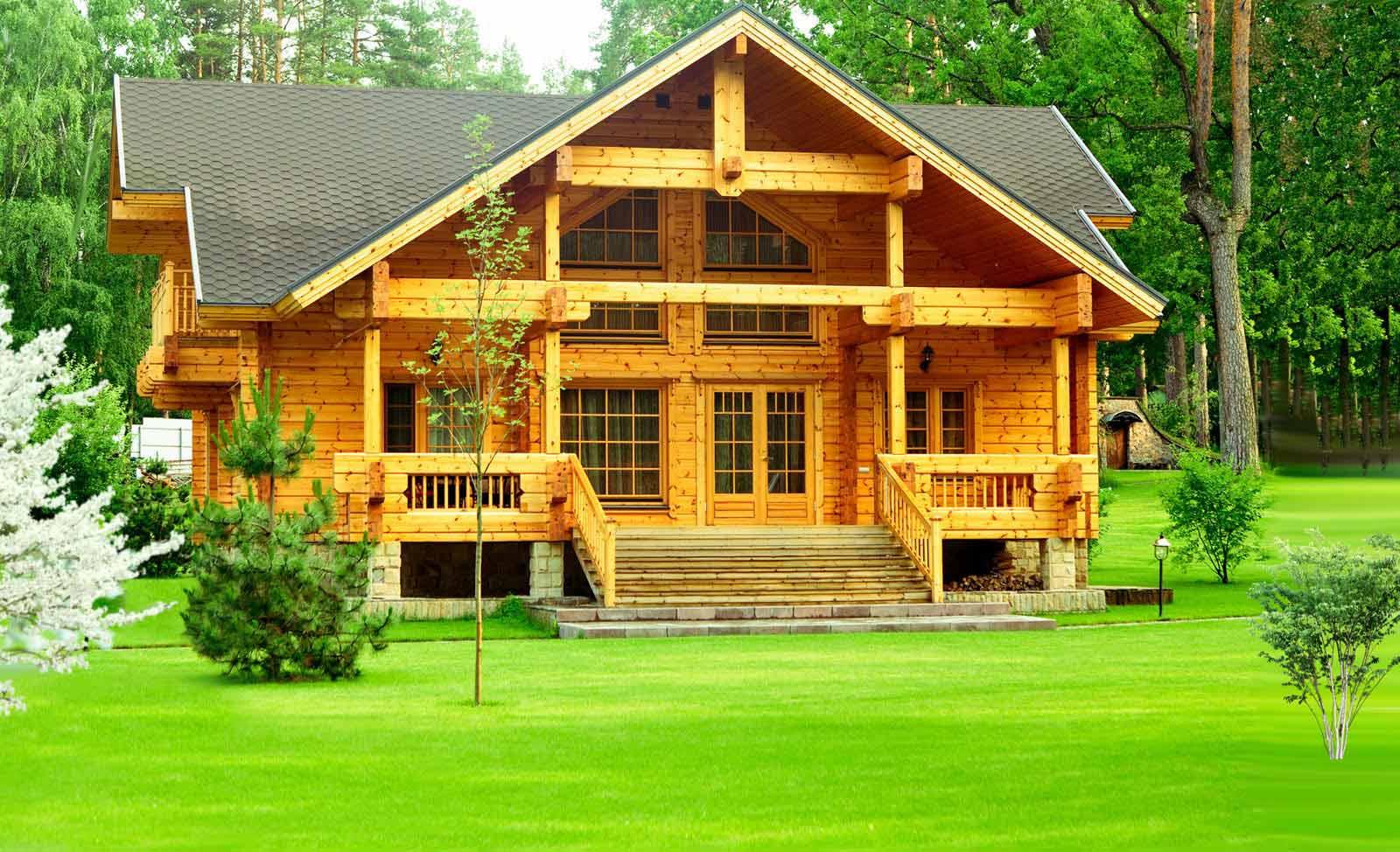 дачных домиков из дерева 2