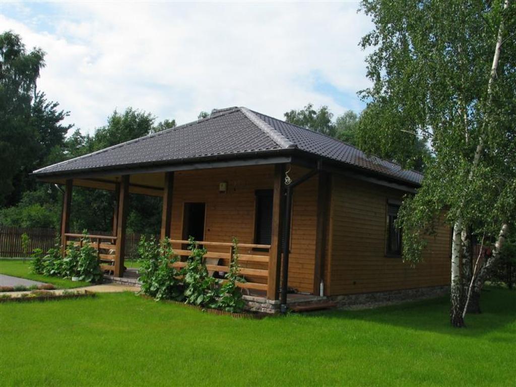Одноэтажный дачный дом своими руками