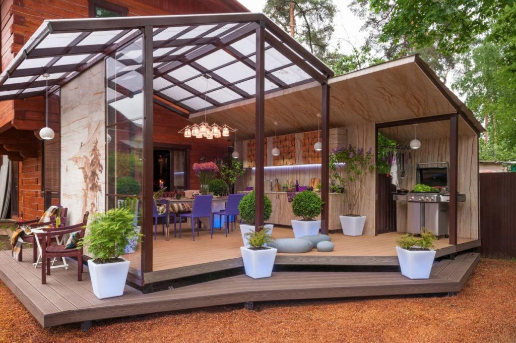 Терраса дома дизайн