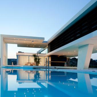 Красивые частные дома — 100 фото экстерьера дома в современном стиле