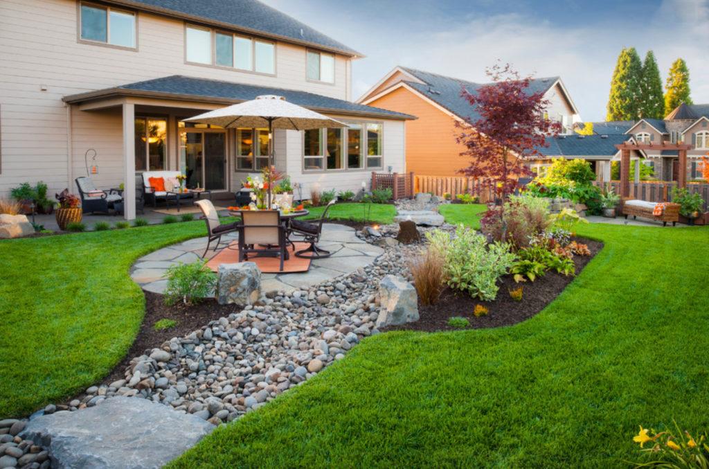 фото дизайн дачных дворов