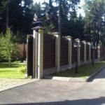 забор для частного дома - 2