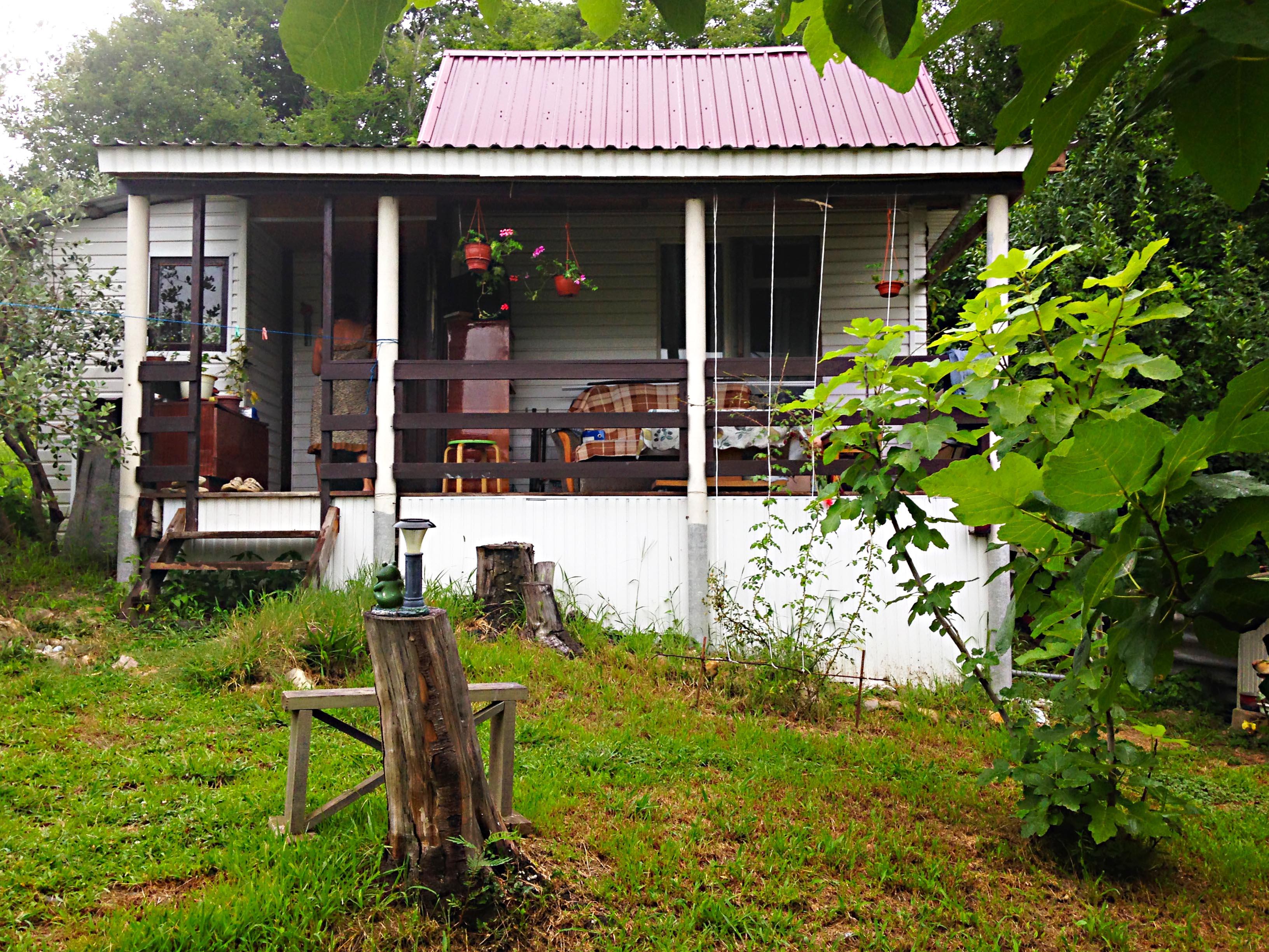 задний двор частного дома -12