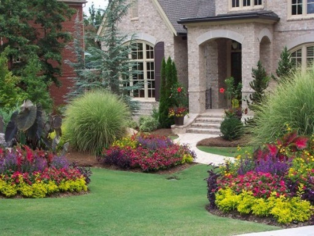 landscaping-ideas-for-front-of-brick-house