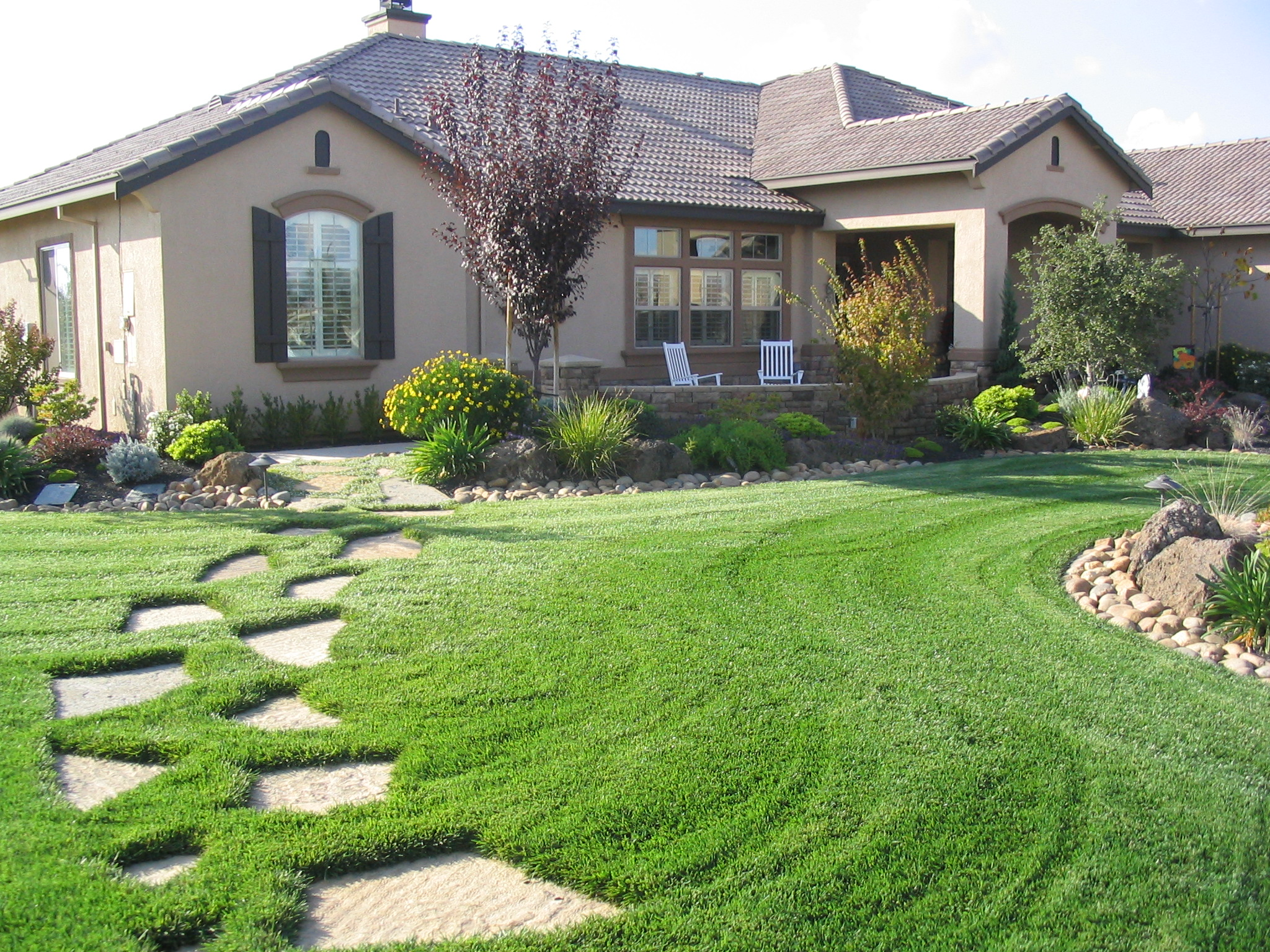 Ranch curb appeal ideas trend home design and decor for House garden landscape