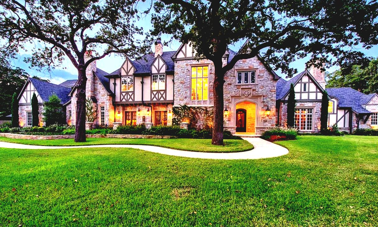 ideas-for-front-of-house-landscaping-home-decorating-southlake-tudor-estate