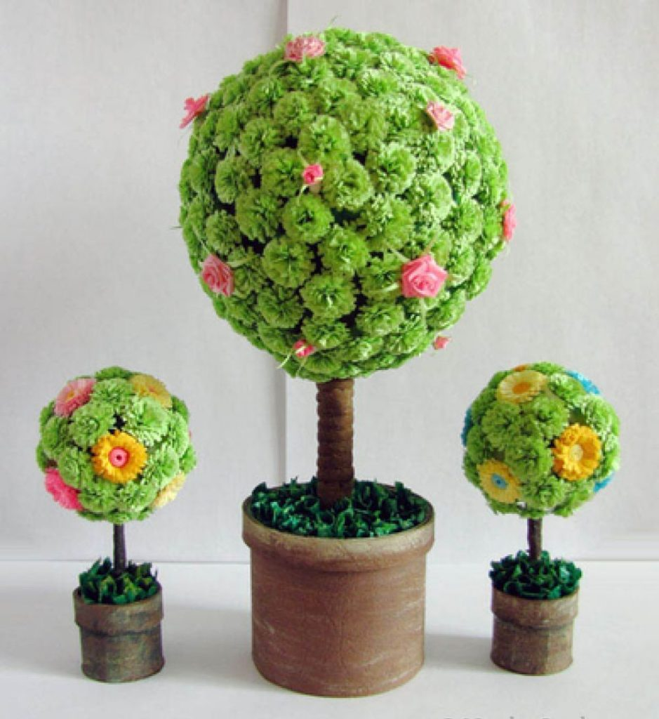 Сделать круглое дерево