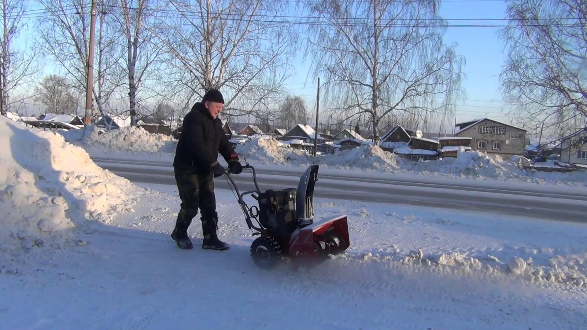 Снегоуборочная машина своими руками: достойная альтернатива 36