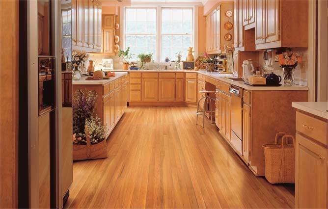 пол в кухне фото