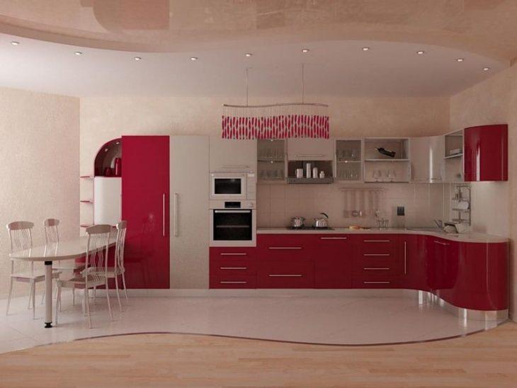 фото вариантов пола кухни