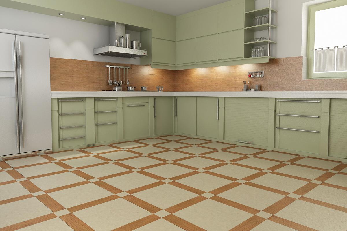 Как лучше сделать пол на кухне 160