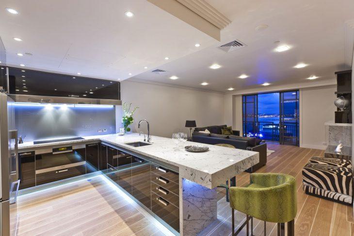 красивые современные кухни фото