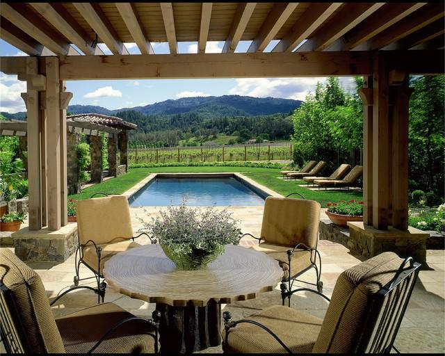 терраса загородного дома дизайн
