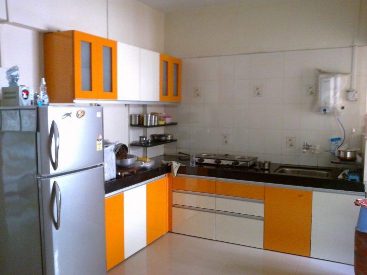 угловая кухня современный дизайн