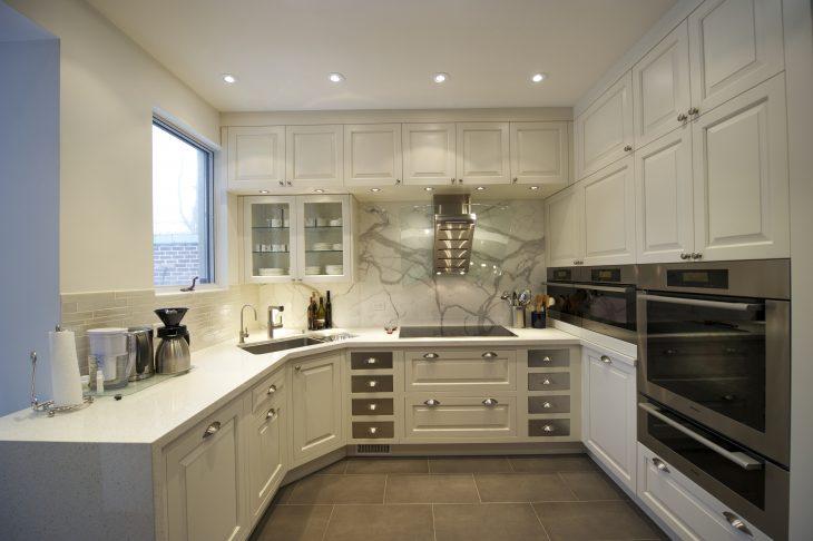 идеи дизайна угловой кухни