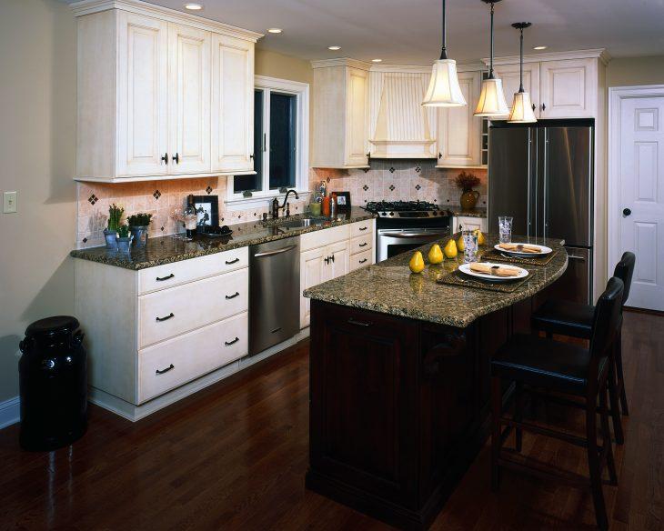 дизайн кухни угловой классика