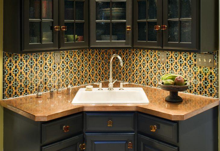 Дизайн угловой кухни - 35 фото идей