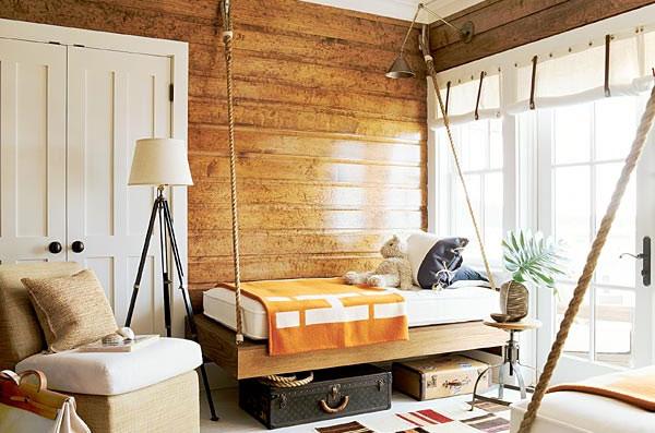 кровать подвесная к потолку