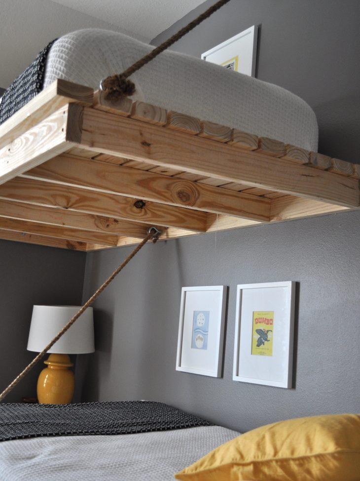 Спальня под потолком своими руками 98