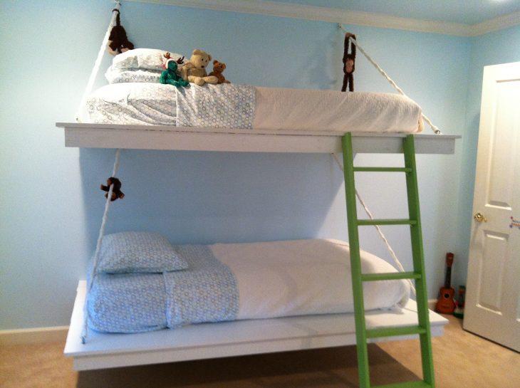 подвесная детская кровать