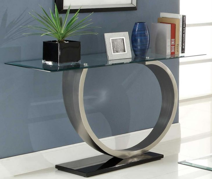 стеклянные столы в интерьере