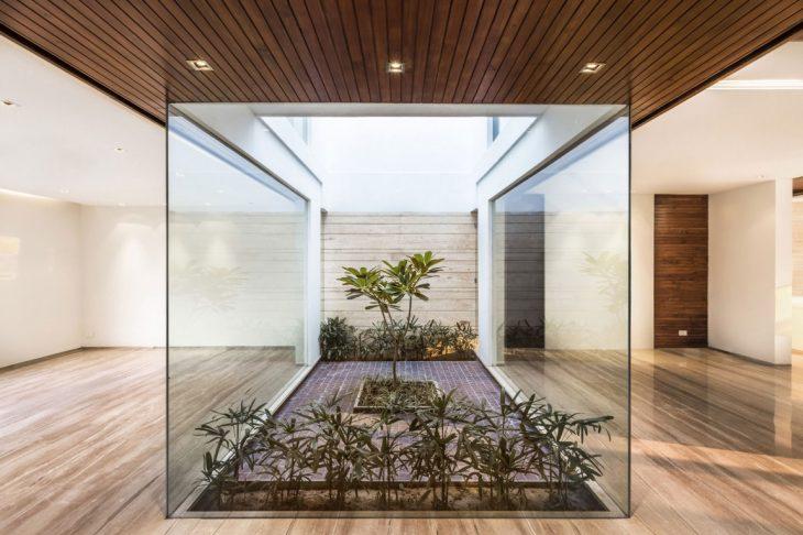 стеклянные интерьеры