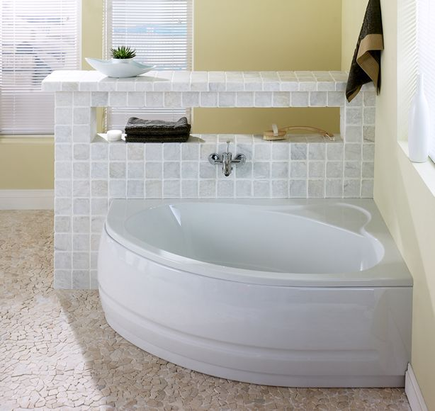 Угловая ванная - 50 фото идей дизайна интерьера