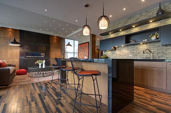 Барные стойки для дома - 45 фото дизайнерских идей