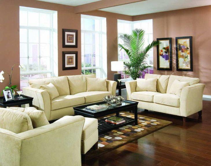 диван в интерьере гостиной