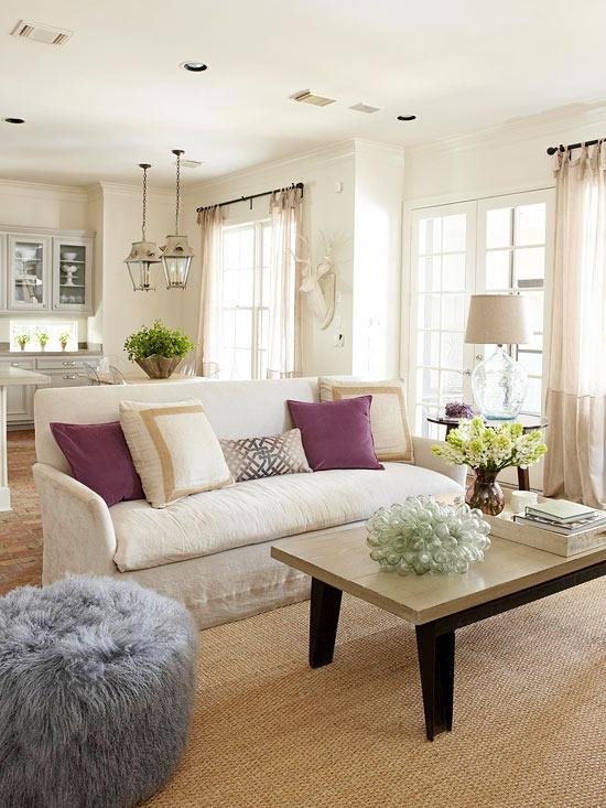 диван и кресла в интерьере