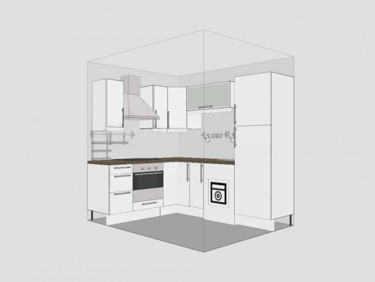 интерьер маленькой кухни фото 2019