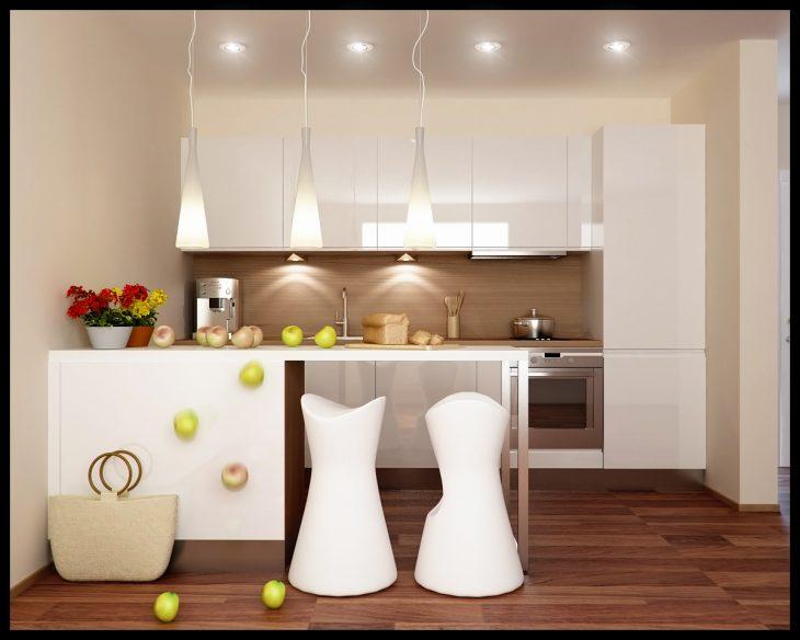 дизайн маленькой кухни гарнитур