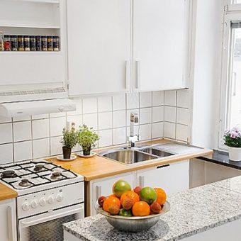 Интерьер маленькой кухни — 35 фото идей дизайна