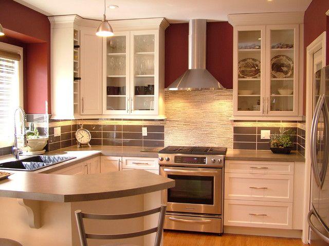 интерьер небольшой кухни фото