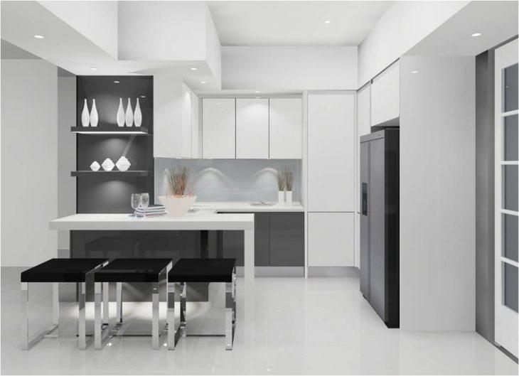 Интерьер современной кухни 2019 - 35 фото лучших интерьеров кухни