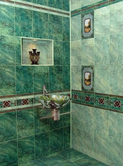 красивая плитка для ванной