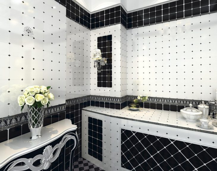 ванна варианты укладки плитки фото
